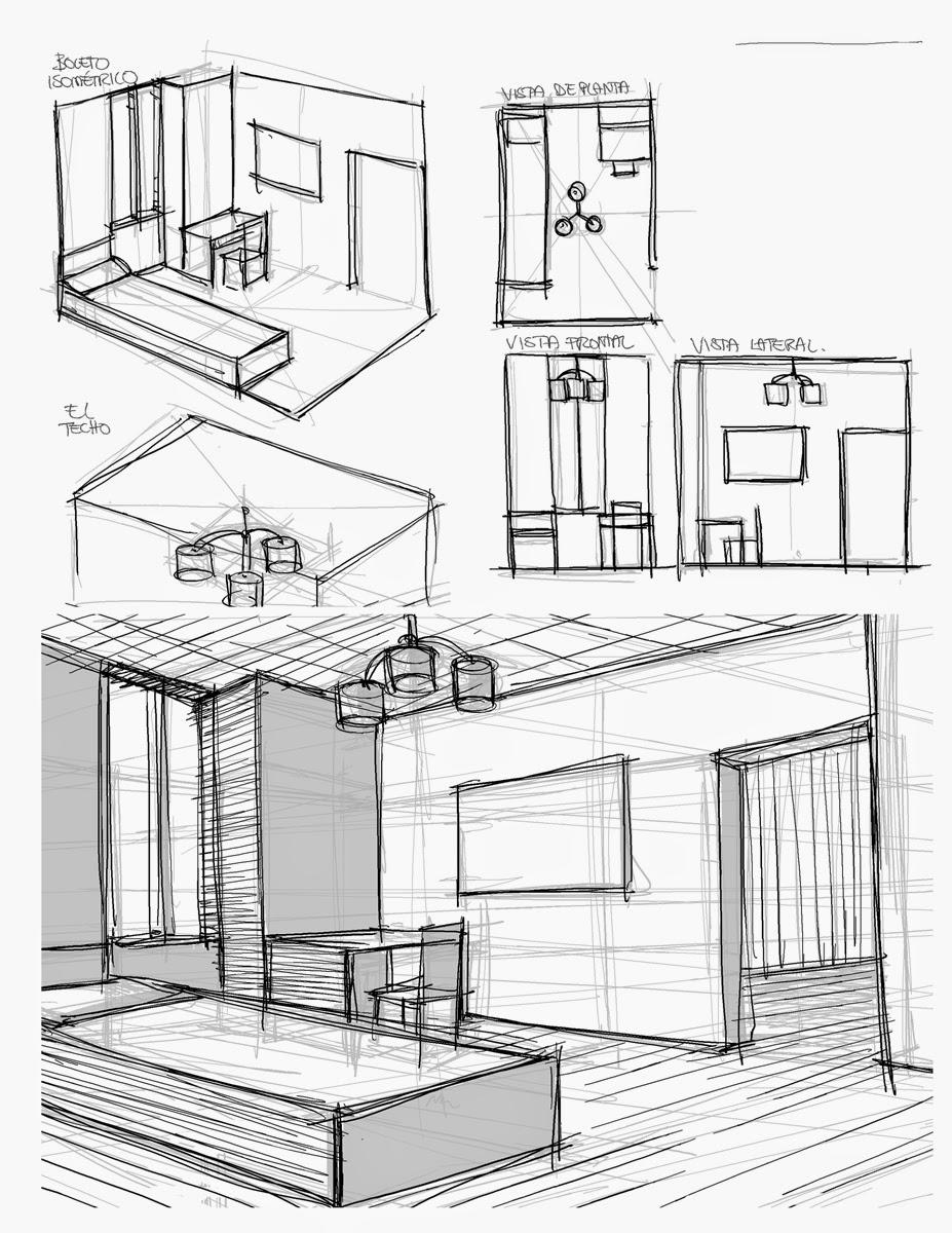 Sistemas de representaci n espacial educaci n visual y for Habitacion dibujo